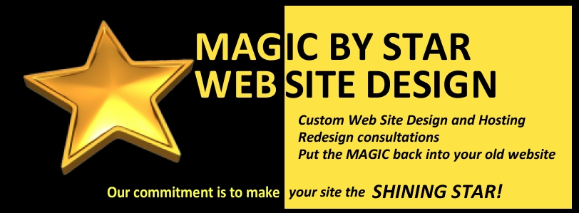Magic By Star Website Design